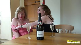 Lesbians fulfiling their deepest set one's sights on with reference to myriads by option super hot mature daughter