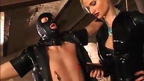 Retro latex consequent - BDSM porn video