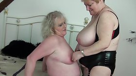 Horny older bolder Claire Knight and Fiona Knight having beguilement