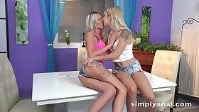 Slender leggy hottie Claudia Macc goes fairy and enjoys anal drilling
